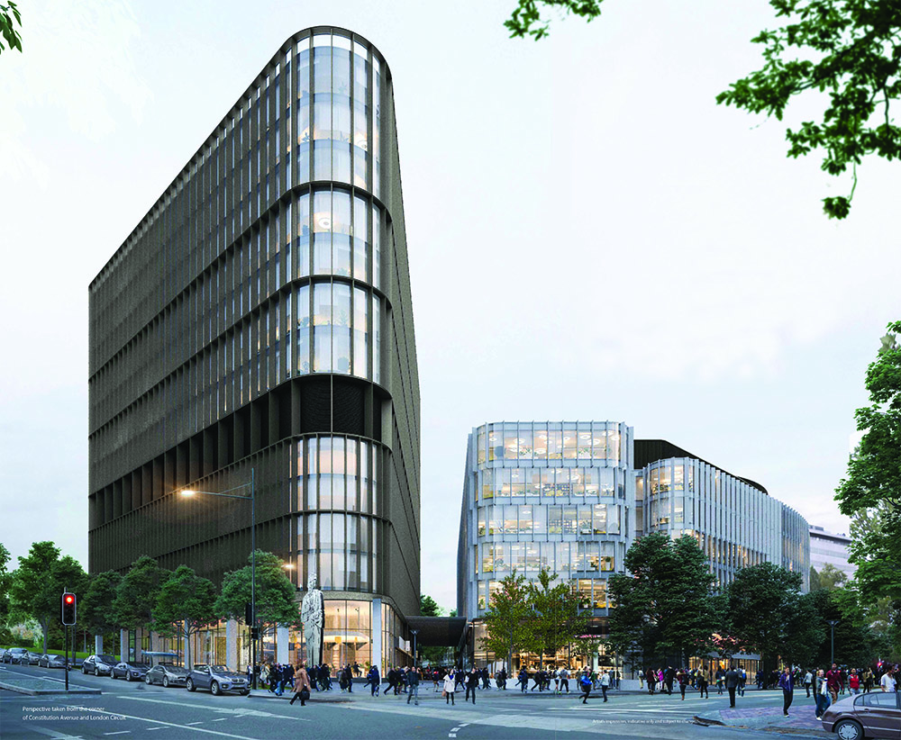 Capital Property Group artist rendering of Constitution Place development