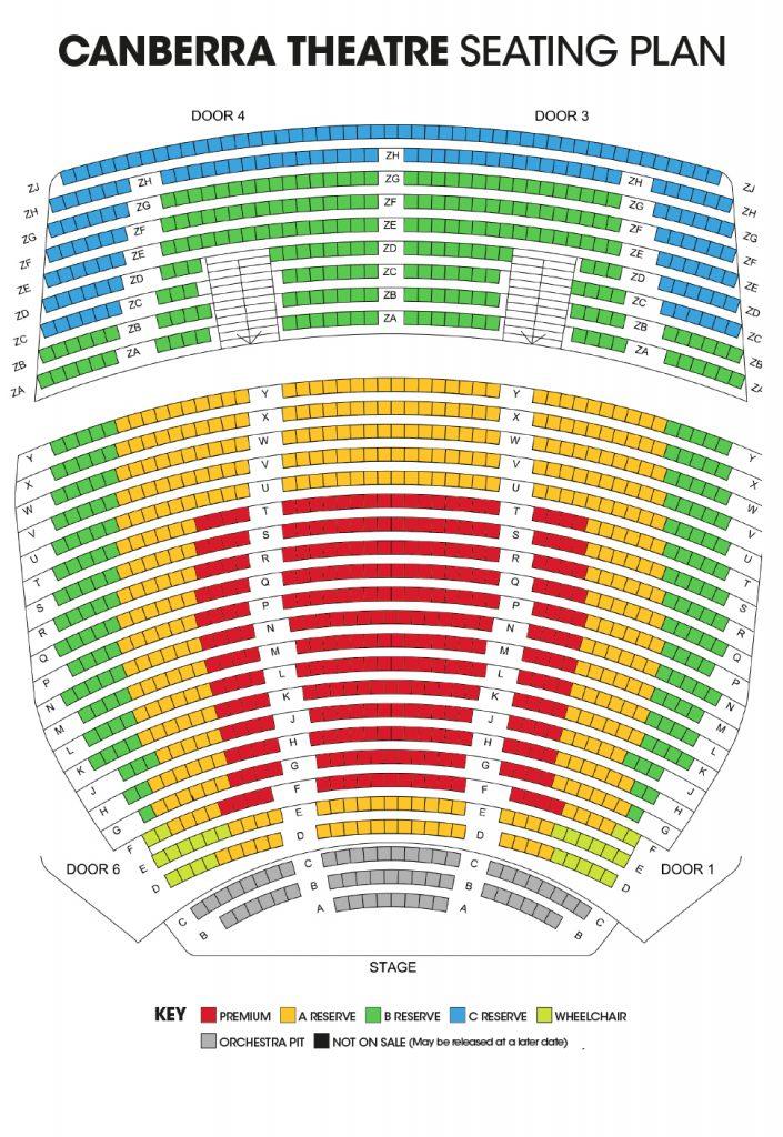 CT Seating Plan