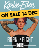 Karise Eden – Born to Fight, Sunday 24 March 2019