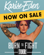 Karise Eden – Born to Fight