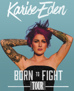 Karise Eden – Born to Fight