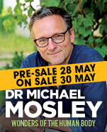 Michael Mosley: Wonders of the Human Body, Sunday 22 September 2019