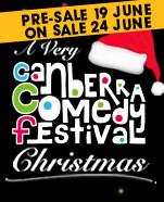 A Very Canberra Comedy Festival Christmas, Saturday 30 November 2019