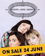 Seeker Lover Keeper, Friday 6 September 2019