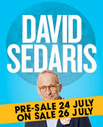 An Evening with David Sedaris, Sunday 19 January 2020