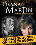 Deana Martin, Saturday 15 February 2020