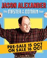 "Jason Alexander ""Master of his Domain"", Thursday 20 February 2020"
