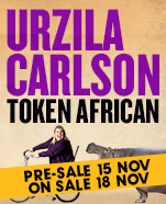 Urzila Carlson: Token African, Friday 12 June 2020