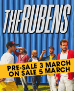 The Rubens, Saturday 4 July 2020